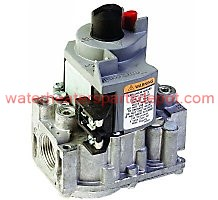 """94C89 24V Dual Standing Pilot Gas Valve with 1/2"""" x 1/2"""" Inlet/Outlet Step Opening Natural Fuel"""" 0.7 A Anticipator Setting"""