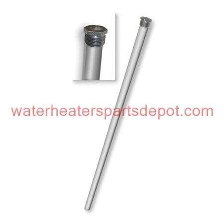 Giant Aluminum Anode Rod with Plug For UG60, 152 40 gal Water Heater, 3/4 in., 41 in. L