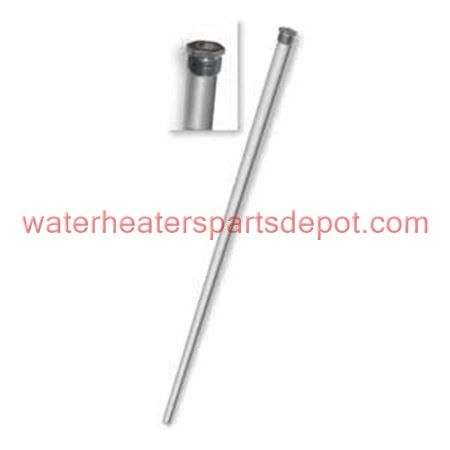 Giant Aluminum Anode Rod with Plug For 172 60 gal Water Heater, 3/4 in., 54 in. L