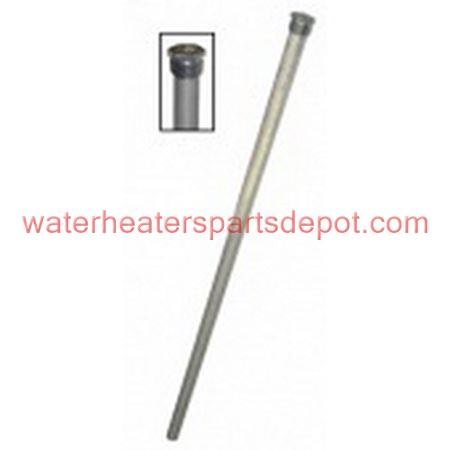 Giant Magnesium Anode Rod with Plug For 172 60 gal Water Heater, 3/4 in., 50 in. L
