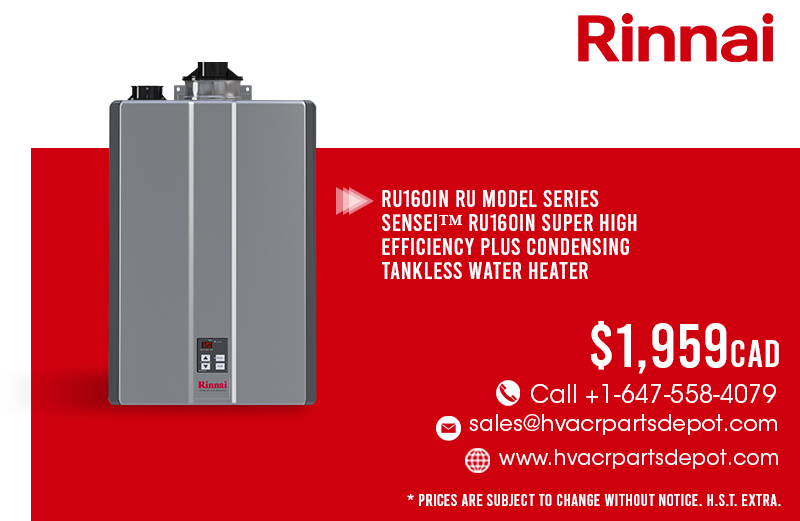 Rinnai RU160IN for $1959!